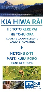 he toto rere pai - Stroke Foundation NZ