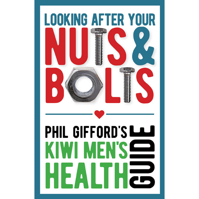 Cover of men's health book Stroke Foundation New Zealand
